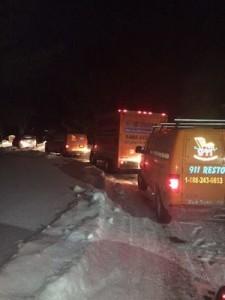911 Restoration Winter Caravan
