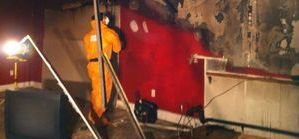 Water Damage Restoration Basement Wall Removal From Water Damage