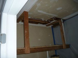 Water Damage Restoation of Furnace Room